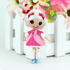 white cute 3Inch Original MGA Lalaloopsy Dolls Mini Dolls For Girl's Toy