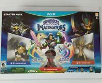 Skylanders Imaginators Starter Pack - Nintendo Wii U - New In Factory Sealed Box