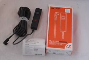 Sony Remote Commander Shutter Release RM-L1AM 5m for Sony Alpha