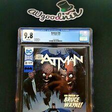 CGC 9.8 Batman #38 white pages DC comics / universe, the origin of bruce .CBCS ?