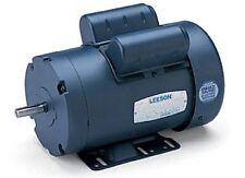 Leeson Electric Motor E119348.00 C6K17DB51A 3/4 HP 1800 Rpm 1-PH 115/230 Volt