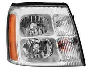 New Cadillac Escalade 2002 right passenger Halogen headlight head light
