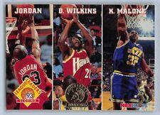 1993-94  MICHAEL JORDAN NBA Hoops GOLD LEADERS 5th Ann. Basketball Card # 28