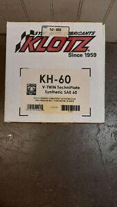 10 Klotz V-Twin SAE-60 Synthetic Oil KH-60 for Harley Davidson