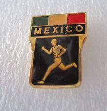 1984 LOS ANGELES OLYMPICS MEXICO ATHLETICS TRACK AND FIELD TEAM PIN BADGE