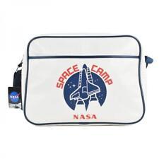 NASA SPACE CAMP RETRO SHOULDER MESSENGER SPORTS GYM SCHOOL BAG BNWT