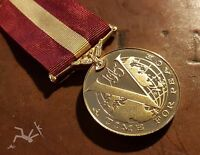 "The British Forces WW2 ""RESTORATION OF PEACE MEDAL"" Full sized  & ribbon"