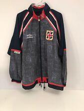Vintage umbro defino cagliari calcio femminile jacket M Soccer Futbol Men's