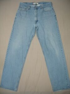 Levi's 550 Relaxed Fit Jeans Mens size W36 L34