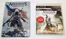 Assassins Creed III PS3 with Collector's Edition Metal Case (2012)