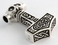 Anhänger Thors Hammer - Thorfinn, 925er Silber! + GRATIS-Schmuckband!
