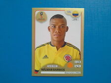 Figurine Panini World Cup Russia 2018 Gold n.645 Wilmar Barrios Colombia