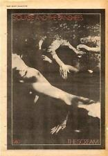 Siouxsie & Banshees Scream UK LP advert 1978 #1 ABCD