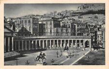 Napolina Piazza del Plebiscito e castel S Elmo