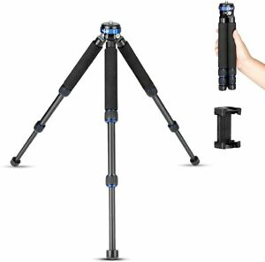 koolehaoda Travel Tripod with 1/4 and 3/8 Screw Mount and Extendable Leg Design