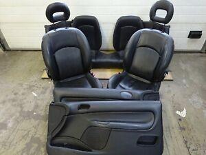 Sitz vorne rechts Lederausstattung Türverkleidung Rücksitz Leder Peugeot 206 CC