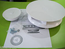 WHITE PLASTIC LOW PROFILE WIND  ROTARY ROOF VAN AIR VENT , DOG, HORSE VEHICLE