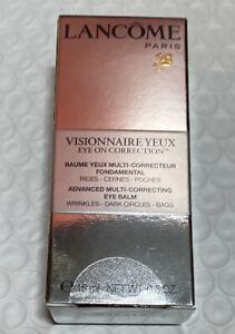 Lancôme Visionnaire Yeux Eye Advanced Multi-Correct Eye Balm 0.5oz Batch 40P91Y