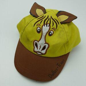 Dallas Texas Horse w/ Ears Kids Ball Cap Hat Snapback Baseball