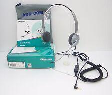 ADD110-06 Headset for Linksys 303 525 921 922 942 962 & Polycom 320 321 330 331