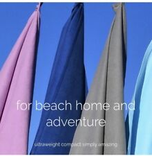 Quick Dry Beach /adventure towels - Sand Free & Compact - Microfibre towel