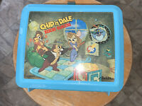 Vintage Disney Chip N Dale  Rescue Rangers Lunch Box with Thermos Excellent