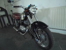 Zundapp 250 Trophy Classic Motorcycle with matching numbers.