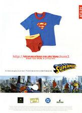 "Superman The Man Of Steel ""Atari"" 2003 Magazine Advert #5542"