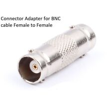 BNC Cable Extension Female to Female Connector Adapter Coupler for CCTV Camera