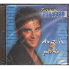 Rosario Miraggio CD Amore In 3 Parole / Zeus Sigillato 8024631918222
