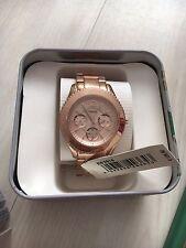Fossil Damenuhr Armbanduhr STELLA ES3815 rosegold Neu Mit Uhrenbox