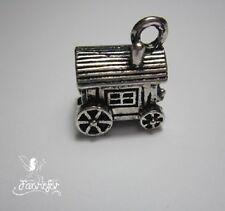 1 français ou transport GITANE ROULOTTE Charme Pendentif pour Fabrication de bijoux, Craft,