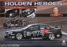 V8 Supercars Paul Radisich TKR Poster Excellent Cond Never Hung & Stored Flat