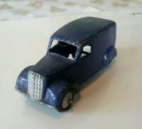 * VINTAGE * 1948 - 1955 * DINKY TOYS * NO 280 * DARK BLUE DELIVERY VAN