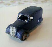 * VINTAGE * 1948 - 1955 * DINKY TOYS * NO 280 * DARK BLUE DELIVERY VAN