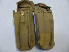 Lot de pouchs anglais WW2 1944 ( BREN ENFIELD STEN MILLS porte chargeurs pouch)