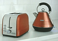 Blaupunkt Copper Toaster & Kettle Breakfast Collection Set