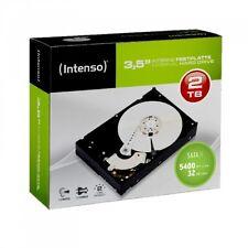 "2000GB / 2TB - INTENSO - SATA  Festplatte 3,5"" Internal Hard Disc - Retail NEU"