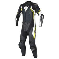 Combinaisons de motocyclette noirs Dainese en cuir
