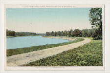 New Rochelle Reservoir NEW YORK WESTCHESTER & BOSTON RR RAILROAD NYW&BRR PC
