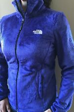 New Womens North Face Ladies Osito 2 Fleece Jacket Coat Blue Large L