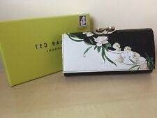 Ted Baker New Genuine Elderflower Leather Pearl Drop Matinee Purse Boxed