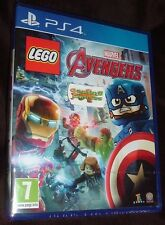 PlayStation 4 Ps4 Lego Marvel Avengers