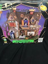 Lemax 65438 BOOGIEMEN'S HANGOUT Spooky Town Building Animated Halloween In Box