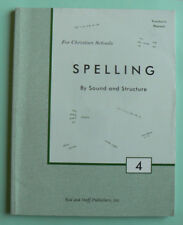 Rod & Staff gr.4/4th Spelling by Sound & Structure, Teacher's Manual TE,LN PB
