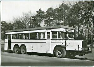 AK BERLIN BVG, Autobus A 35 nach LÜBARS, BÜSSING E 3 Baujahr 1934, 70er