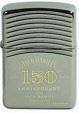 Zippo Jack Daniels ARMOR CASE 150th Anniversary Black Ice 60002636 NEUF 1866-2016