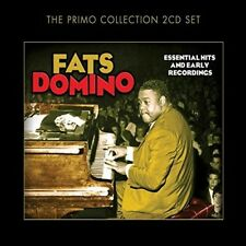 FATS DOMINO - ESSENTIAL HITS AND EARLY RECORDINGS 2 CD NEW!