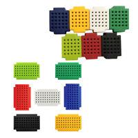 Pack of 14 Colorful Small Bread Board Breadboard PCB Board Circuit Panel