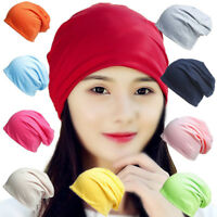 New Women Mens Unisex Oversized Slouch Baggy Hat Cap Knit Beanie Ski Winter Warm